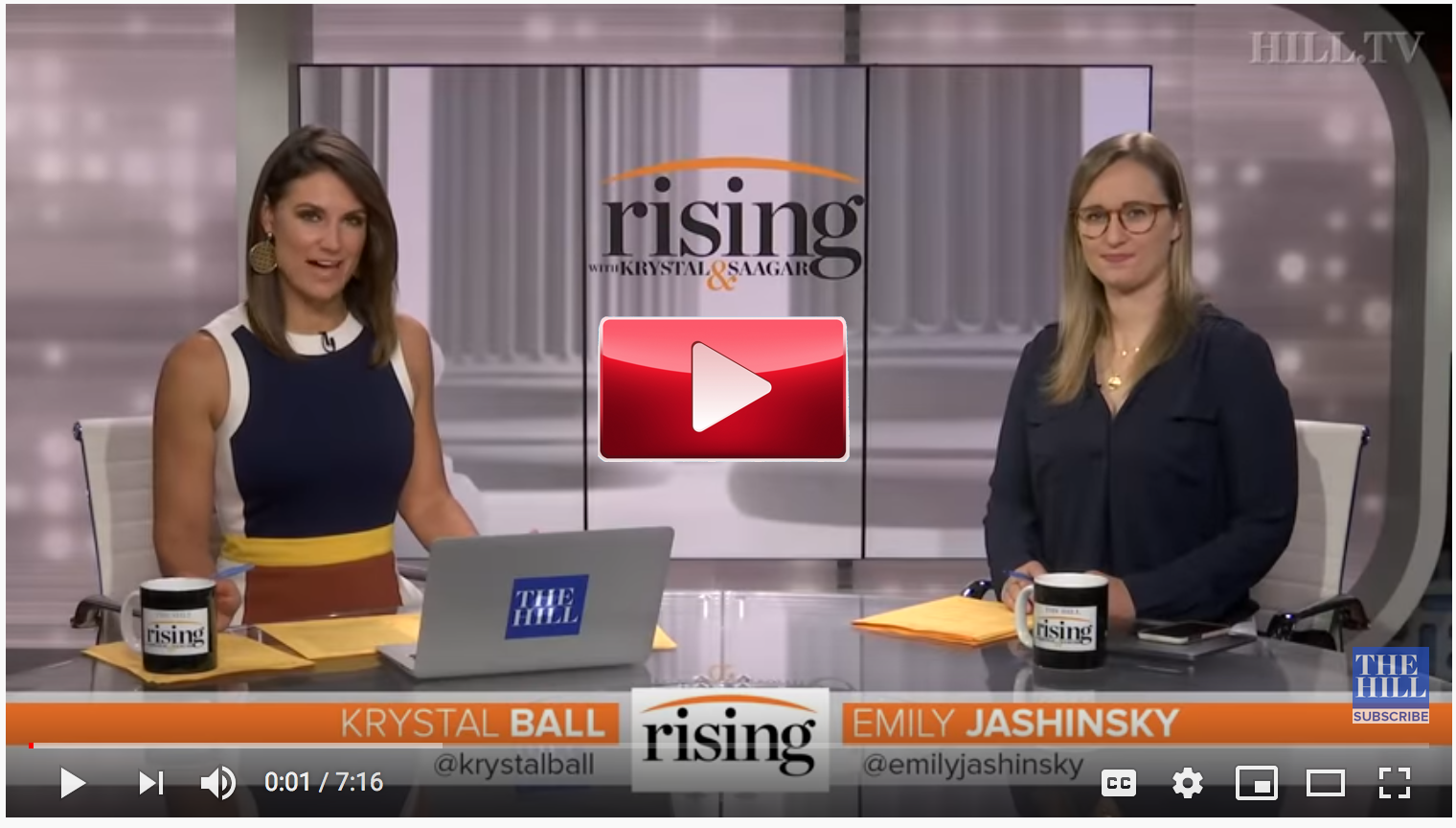 Hill TV's Rising video on Vote Trump Out