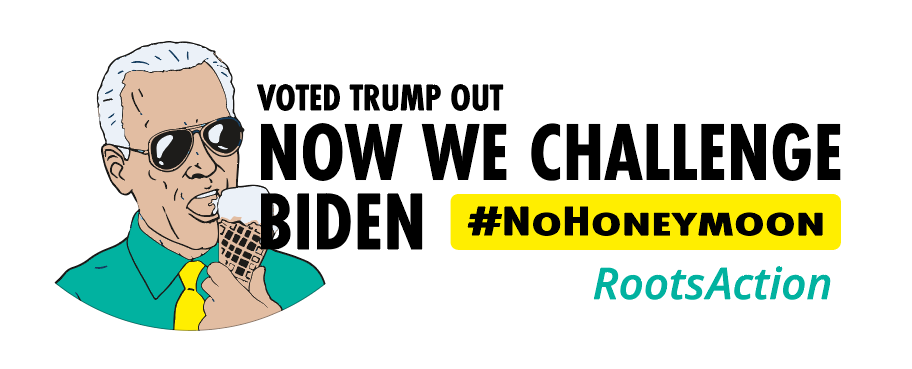 No Honeymon for Biden logo