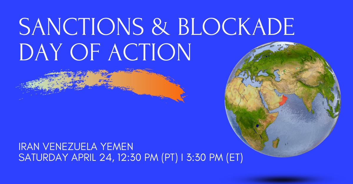 Sanctions and blockade day of action 210424