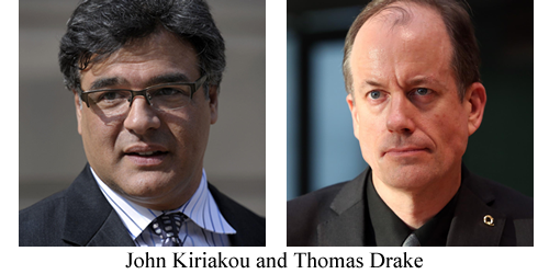 John Kiriakou and Thomas Drake