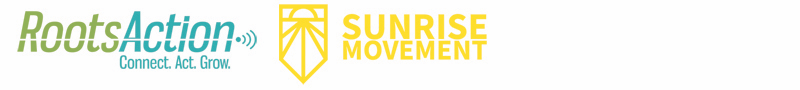 Roots Action and Sunrise logos